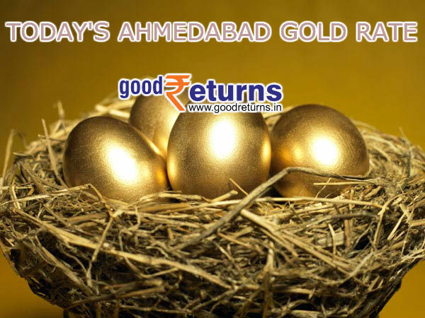 Gold Rate in Ahmedabad, 22 & 24 Carat Gold Price Today