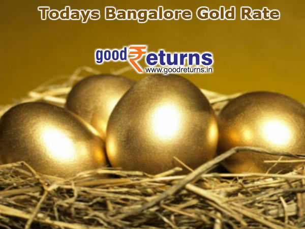 Gold Rate in Bangalore Today