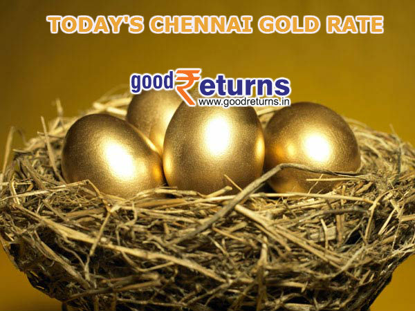 Gold Rate in Chennai, 22 & 24 Carat Gold Price Today