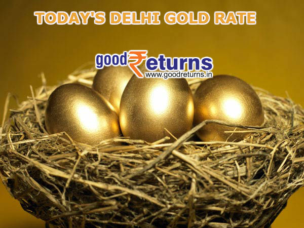 Gold Rate in Delhi, 22 & 24 Carat Gold Price Today