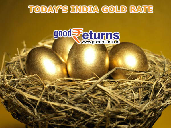 Gold Rate in India, 22 & 24 Carat Gold Price Today