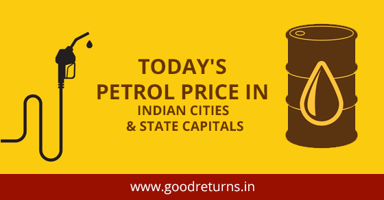 Petrol Price Today, Petrol Rate in India