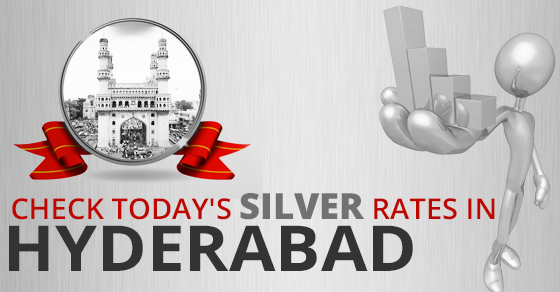 Todays Silver Rate in Hyderabad, Silver Price on 11th Aug 2019