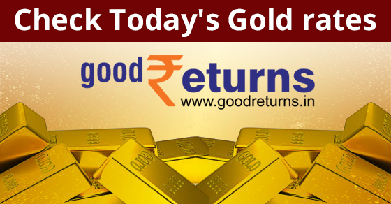 Gold Rate Today 25th February 2021 Gold Price In India Goodreturns