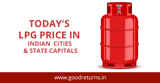 LPG Price in India Today (08 September 2019), LPG Gas