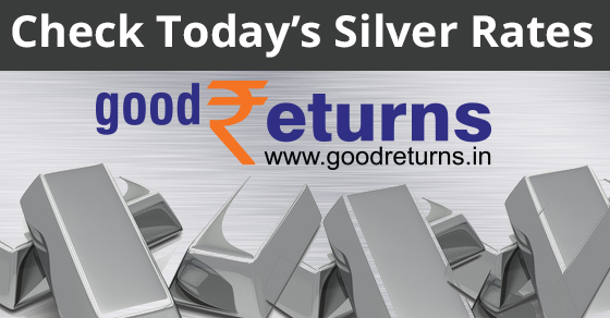 Silver Rate Today (8th September 2019), Silver Price in