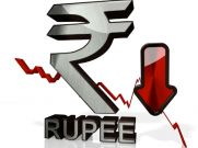 Rupee Closes At 14-Month Low