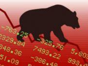 Sensex Drops Sharply As Recession Fears Loom