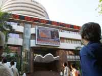 Sensex closes on a -Ve note