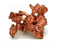 Copper rises due to overseas cues