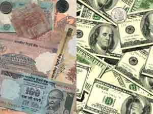 Rupee futures gained 13 paise