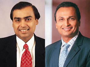 Reliance stocks zoom on Ambani's get-together