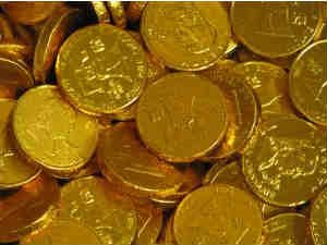 Gold futures up at Rs 28,190 per 10 grams