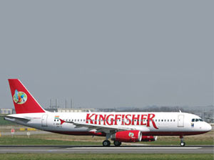 Kingfisher Airlines stock goes into a tailspin