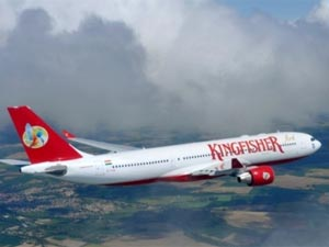 Kingfisher Airlines stock subdued as problems continue