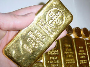 MCX gold futures lower on firm global cues