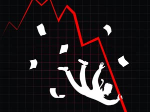 Markets crack; Infosys stock hammered down