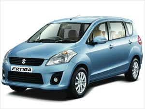 Maruti shares take a ride on the Ertiga