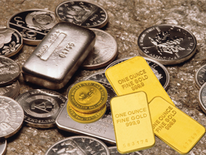 Gold, silver rises as dollar weakens