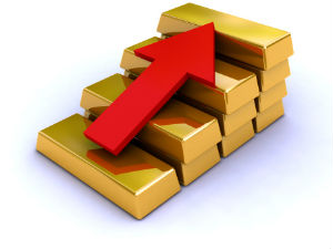 Gold edges up on weak dollar and physical demand