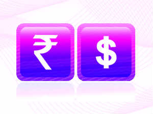Rupee gains on positive equities