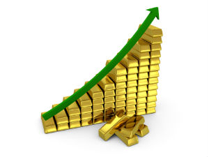 Unabated rally in gold; crosses Rs 32,000