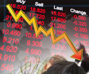 Markets drop on profit booking; Defensives plunge
