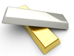 Gold, silver inches up on global cues