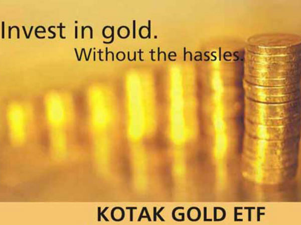 A quick review of the Kotak Gold ETF