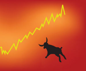 Bulls run continues unabated; Sensex ends higher