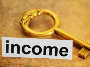 Difference between capital gains and total income
