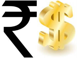 Rupee up sharply on gold duty hike