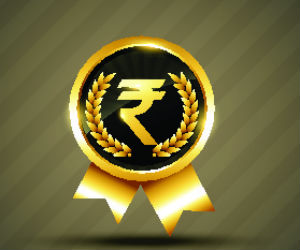 Rupee drops 24 paise; trades at 53.74 to the dollar
