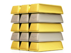 Gold, Silver Futures edge up