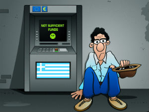 Greek unemployment reaches record 27 percent