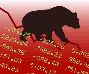 Savage selling in stocks as Fed tapering sees panic selling