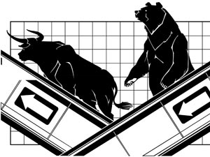 Markets end flat amidst selling pressure
