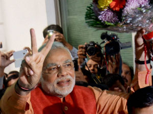 NaMO hope fuels rally on bourses; Sensex  hits new record