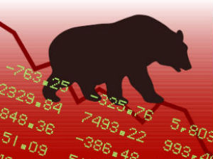 Markets end lower ahead of truncated week of trading