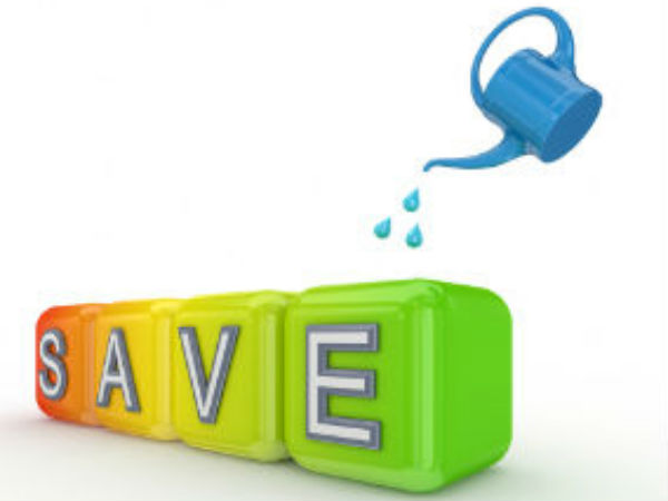 Engage in saving on a regular basis