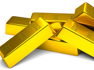 Gold futures post slim losses despite robust safe haven buying