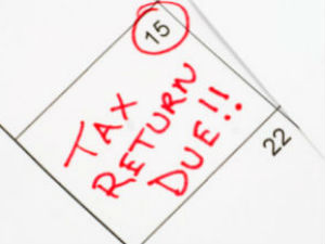 Can an income tax return be filed after the due date?