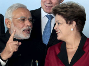 Narendra Modi meets Brazilian President; 3 bilateral agreements inked