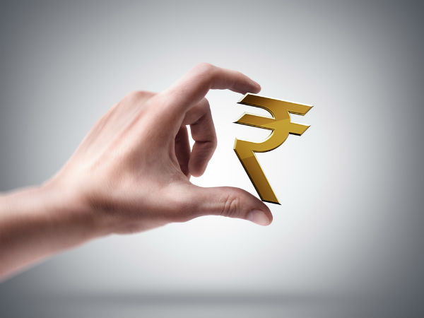 Reduced volatility in the rupee