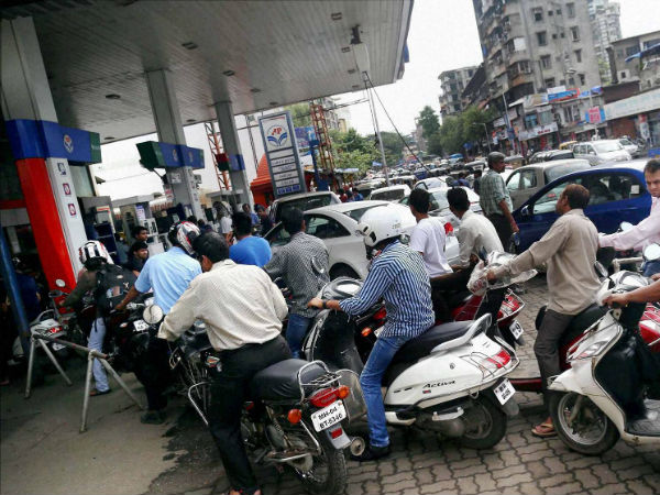 Petrol costlier by 13 paise; diesel cheaper