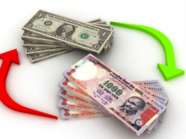 Rupee gains 20 paise at 61.41 against the dollar