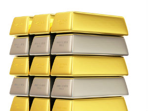 Gold, Silver Up on Firm Overseas Trend