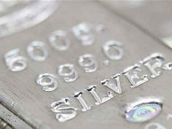 Silver futures up on global cues