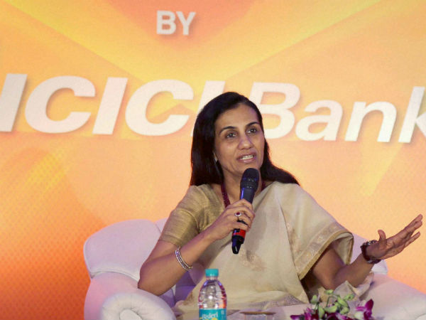 ICICI Bank Shares Slip After CBI FIR Against Chanda Kochhar