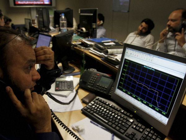 Sensex, Nifty End Lower in Volatile Trade